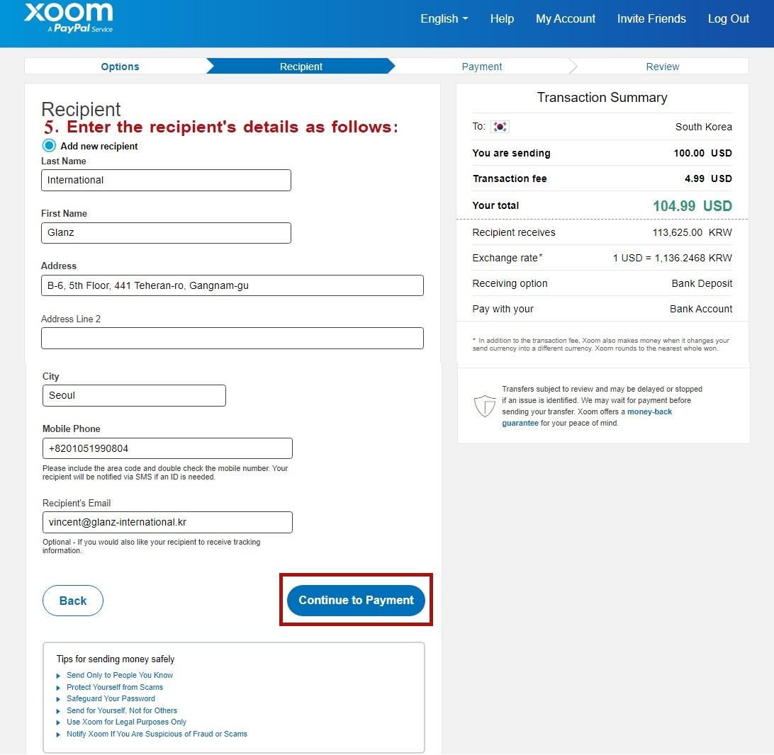 USA Buying Agent Alipay Account